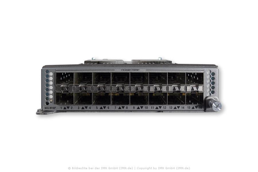 16-port 1/10 GE/ FCoE Modul für Nexus 5548P, 5548UP, 5596UP, 5596T