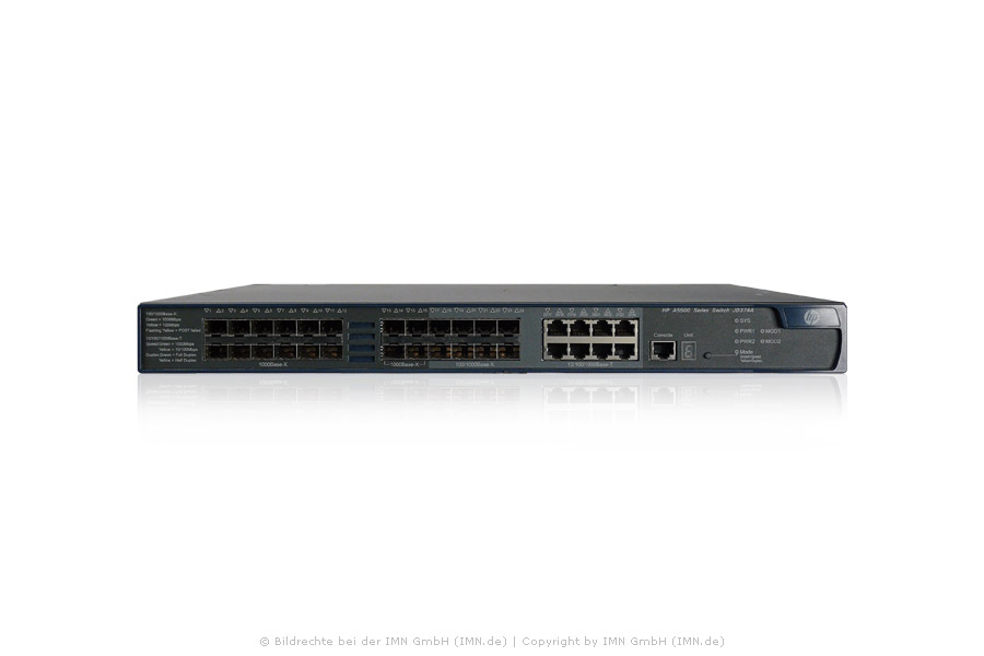 5500-24G-SFP EI Switch with 2 Interface Slots