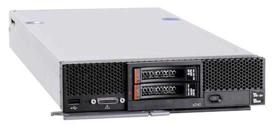 Flex System x240 Compute Node, E5-2670, 8GB, rfb.