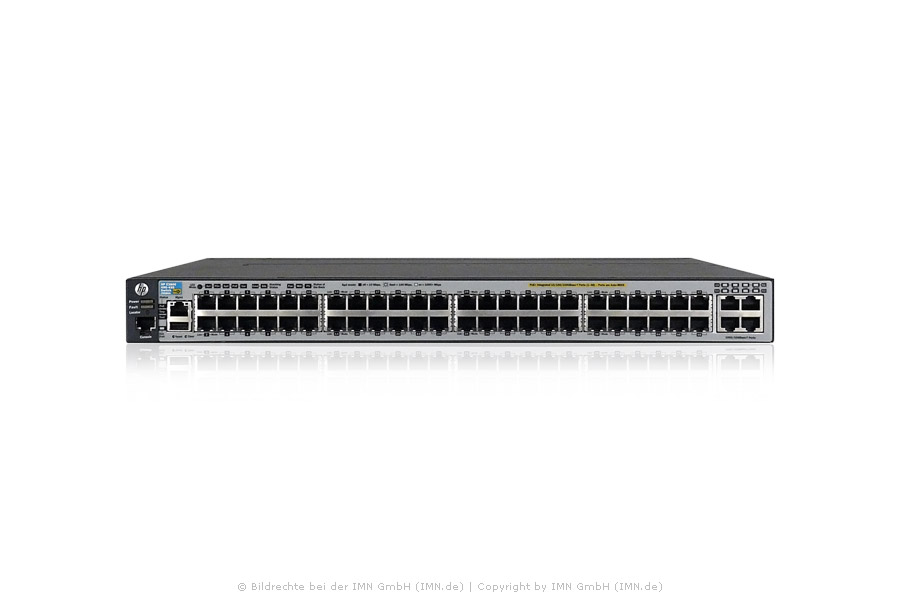 HP 3800-48G-PoE+- 4XG Switch