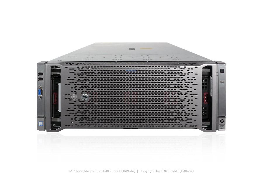 HPE ProLiant DL580 Gen9, 4x E7-8894v4 /2,4GHz. 24-Core, 512GB Ram, 10x 900GB,  4x PSU, rfb.
