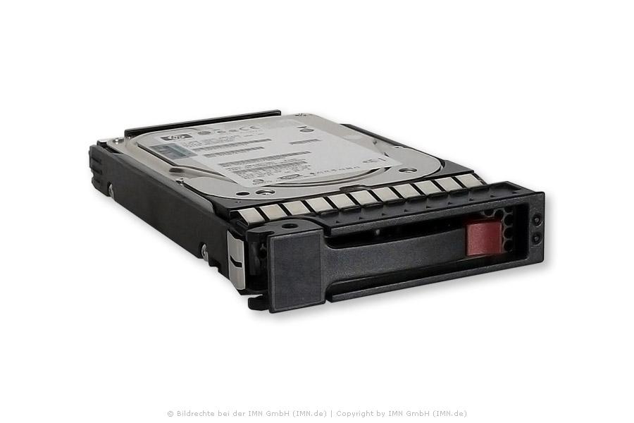 HP Festplatte 600GB SAS 6G 15K LFF für P2000