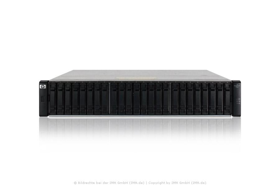 HP P2000 G3 MSA FC Dual Controller SFF mit 21,6TB SAS