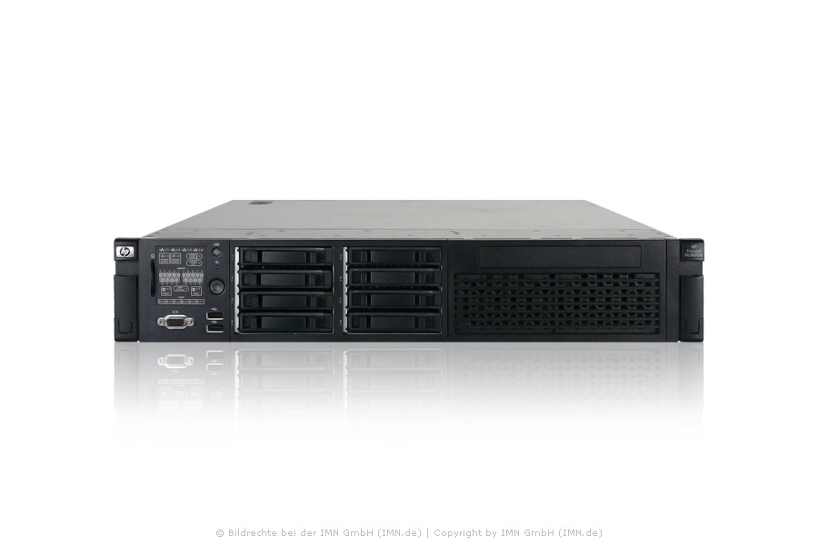 HP ProLiant DL380G6; E5540, 32GB, 1GB FBWC, 2x PSU, Rackkit, rfb.
