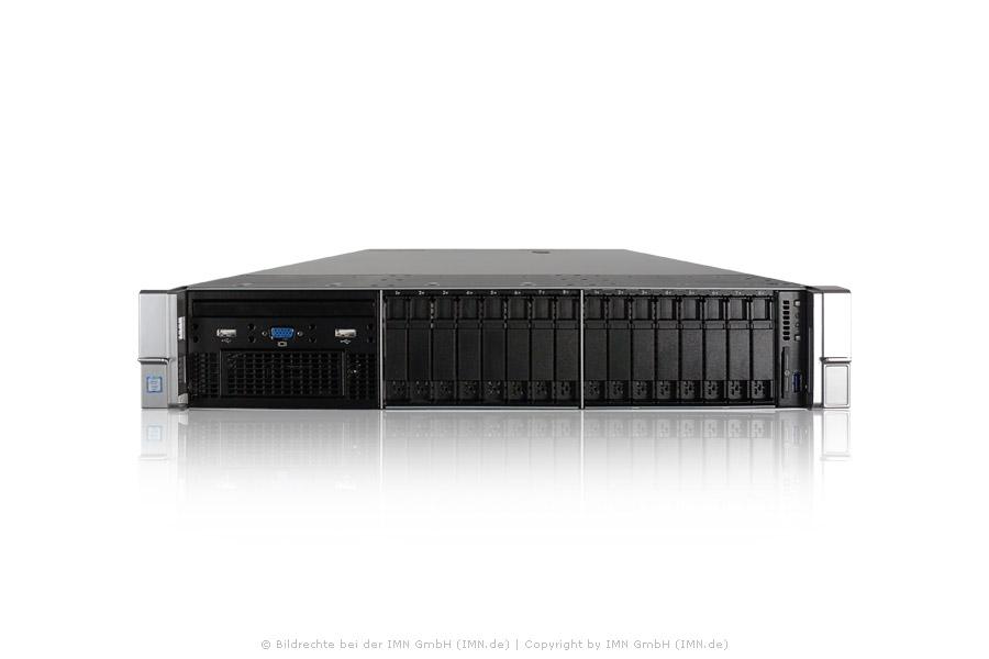 HP ProLiant DL380 Gen9, 1x E5-2667v4, 8x 32GB, P440ar+Expander, 24x 960GB SSD, 2 PSU, rfb.