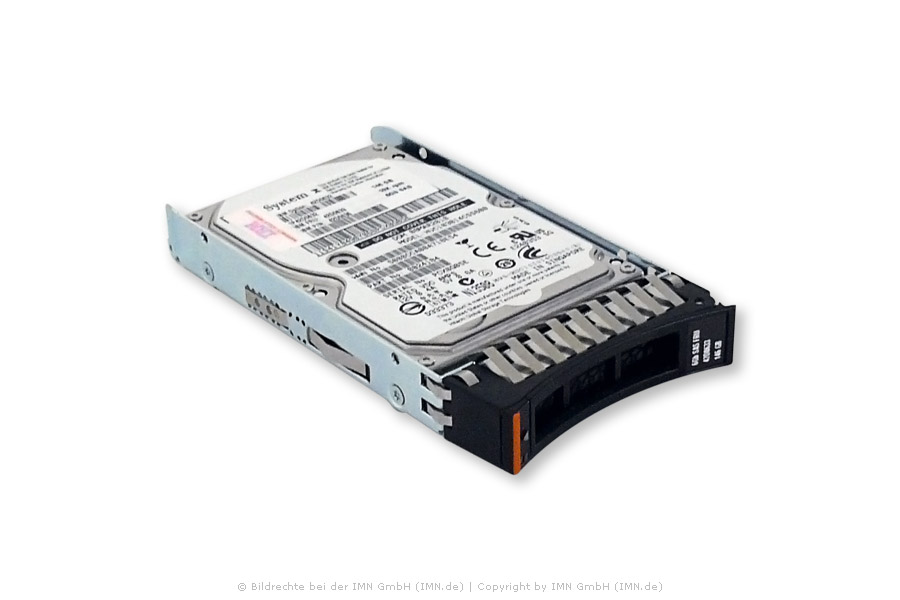 IBM 300GB 10K 6G SFF SAS Festplatte