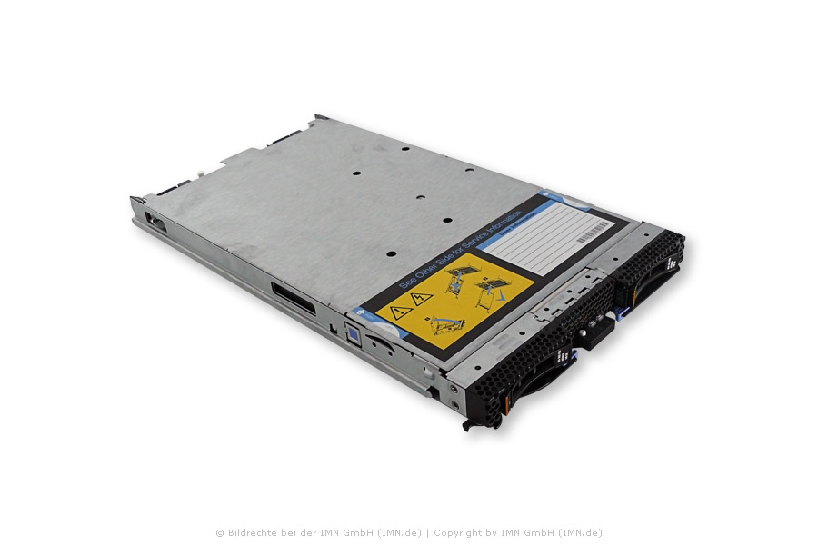 IBM BladeCenter HS22, 1x X5647, 16GB, 8Gbps FC