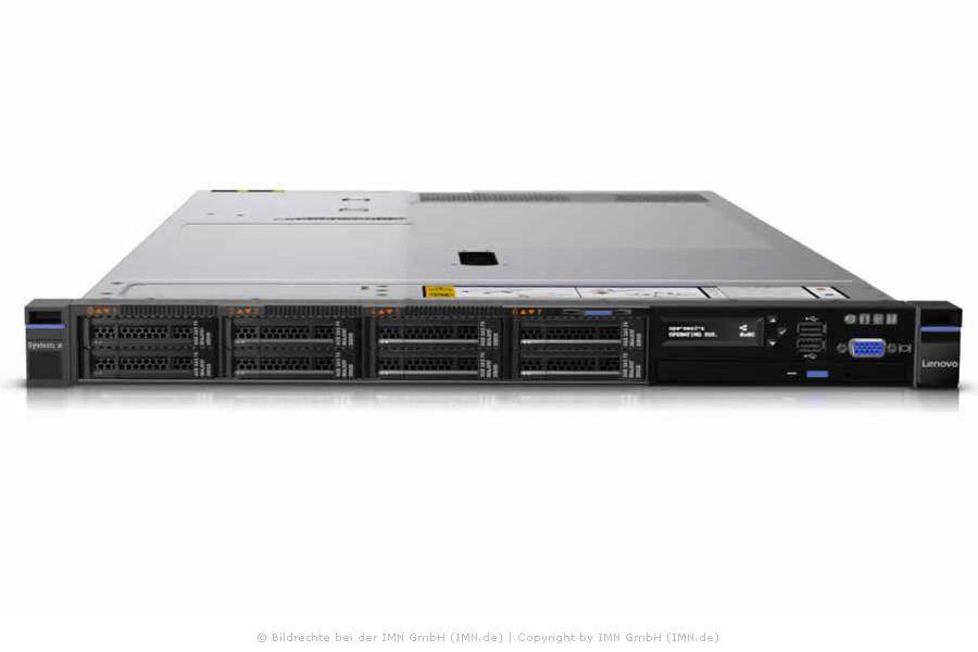 IBM / Lenovo System x3550 M5, 1x E5-2667 v3, 64GB