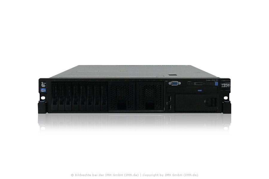 IBM x3650 M4, 2x E5-2630 CPU, 64GB RAM