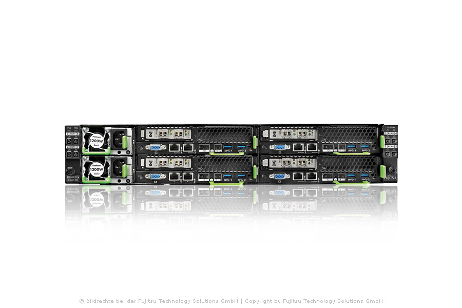 PRIMERGY CX600 M1 multi-node server system