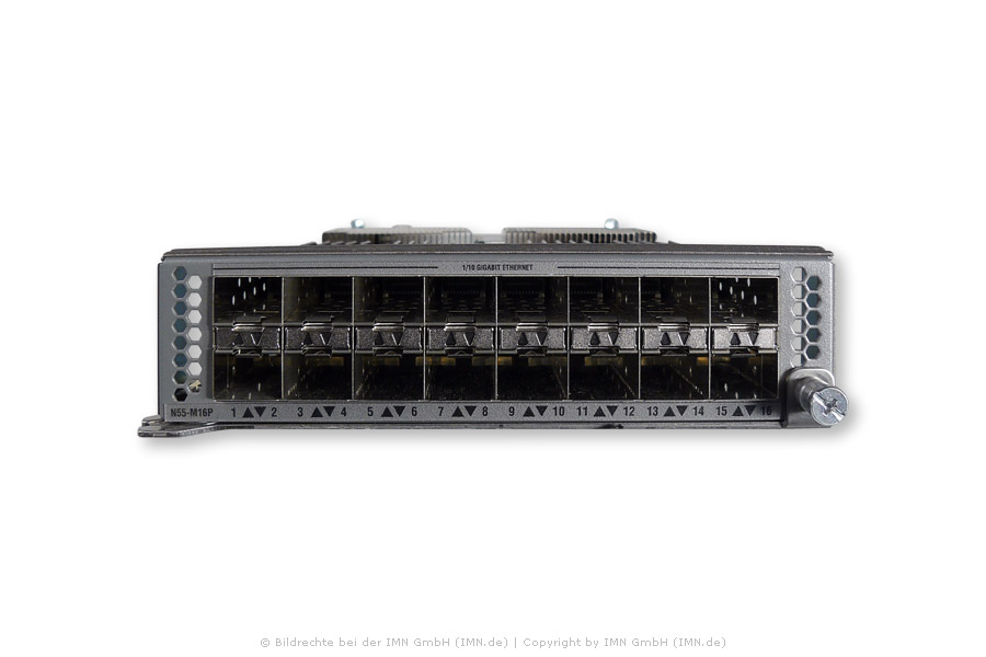 16-port 1/10 GE/ FCoE Modul für Nexus 5548P, 5548UP, 5596UP, 5596T