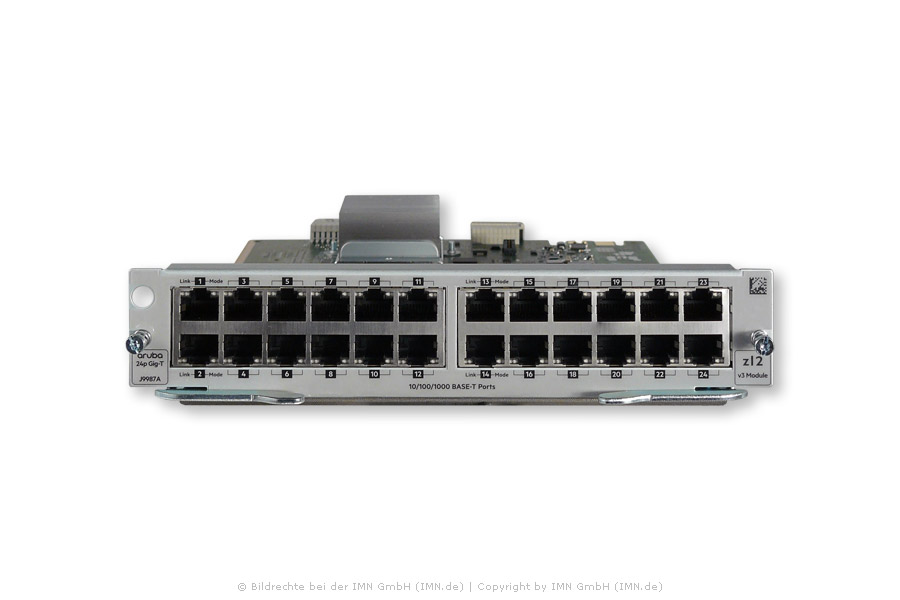 24-port 10/100/1000Base-T MACsec v3 zl2 Modul
