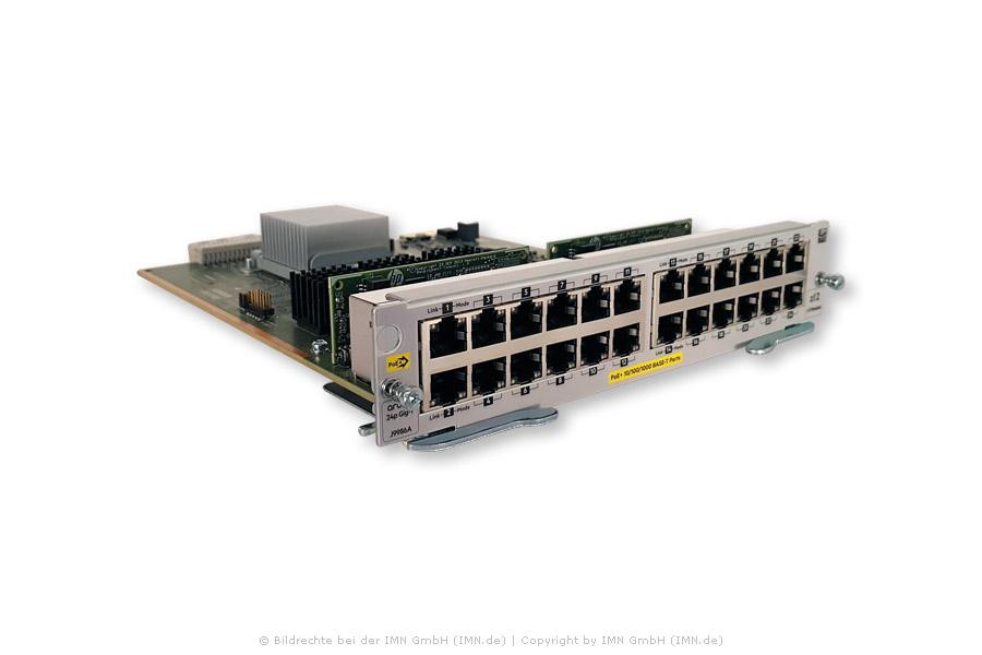 24-port 10/100/1000Base-T PoE+ MACsec v3 zl2 Modul