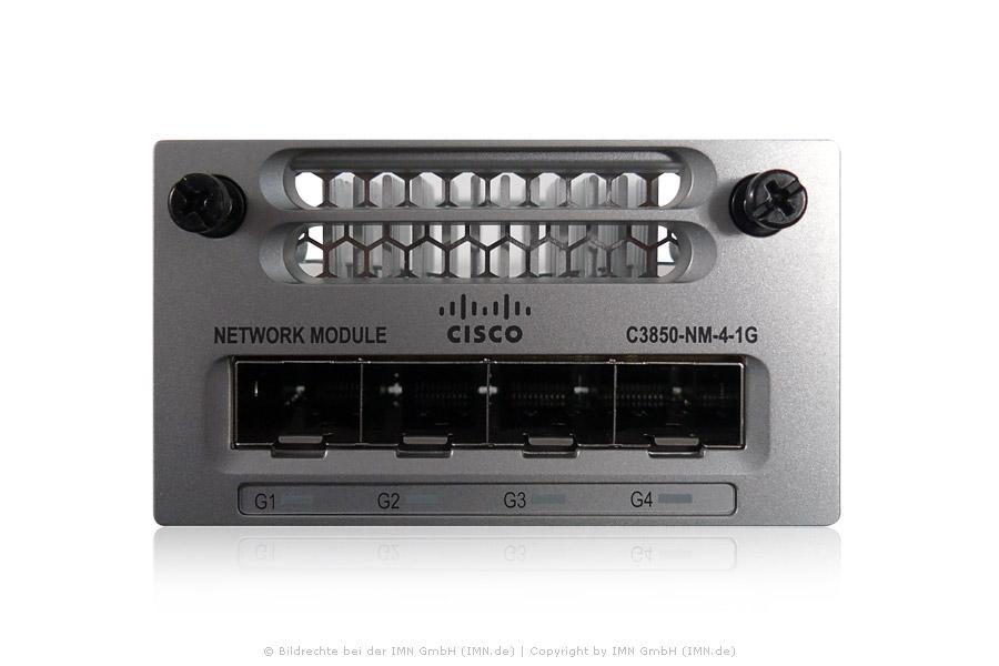 4x Gigabit Ethernet Netzwerk Modul