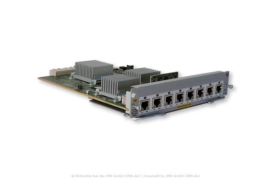8-port 1/2.5/5/10GBase-T PoE+ MACsec v3 zl2 Modul