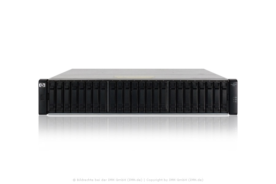 HP D2700 Disk Enclosure mit 24x 600GB SAS 10K 6G