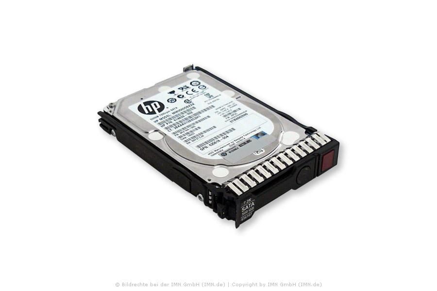 HP Festplatte 600GB SAS 10K SC 12G 512e  DS