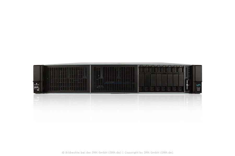 HP ProLiant DL380 Gen10, 2x 4208 CPU, 4x 32GB, 3x 6,4TB SAS 12G SSD, 2 Netzteile, Rackkit, Neuware