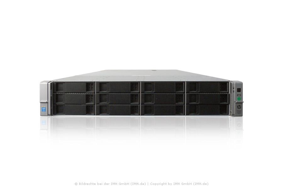 HP ProLiant DL380 Gen9 CTO 12LFF / Grundmaschine, inkl. Rackkit, rfb.