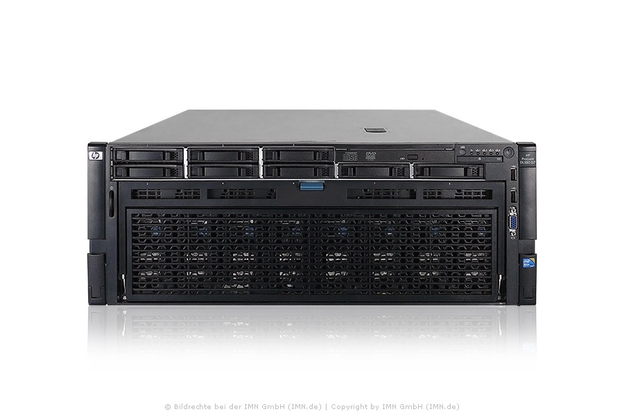 HP ProLiant DL585 G7, 4x 6140, 128GB Ram,1GB FBWC, 4x PSU, Rackkit rfb.
