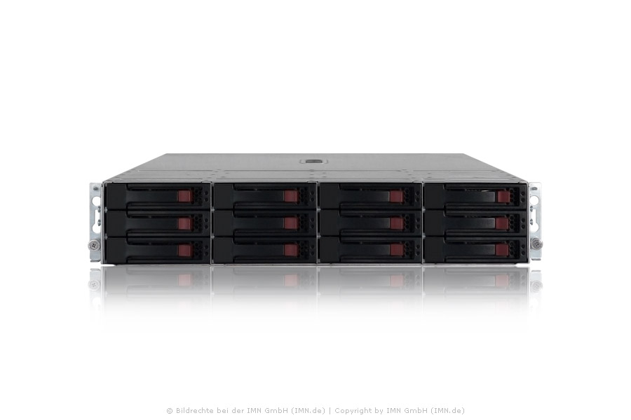 HP StorageWorks M6412 FC EVA Drive Enclosure inkl. 12x 1TB FATA, rfb.