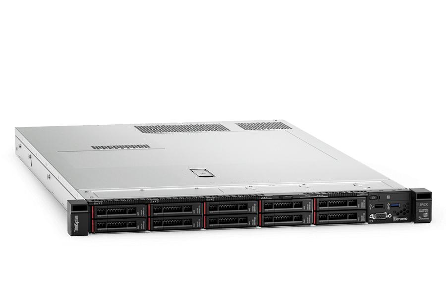 Lenovo ThinkSystem SR630 Server, Gold 6136 CPU, 384GB RAM, 750W